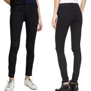 rag & bone | Black Plush Legging Jeans